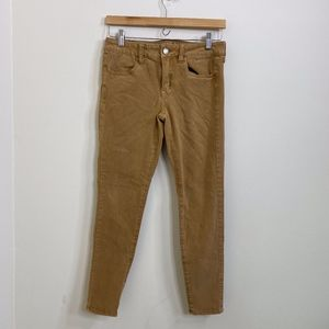 American Eagle 360 Super Stretch Skinny Tan Jeans